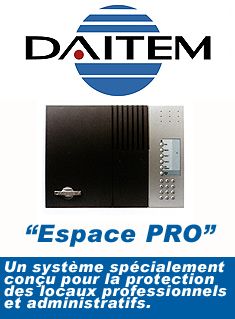 Daitem : communicateur alarme - video